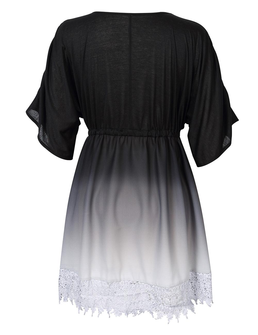 bergr e damen sommerkleid partykleid abendkleider strandkleid mini kleider ebay. Black Bedroom Furniture Sets. Home Design Ideas