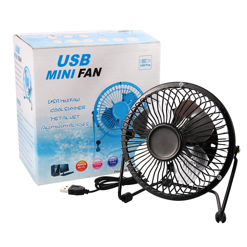 Little Desk Fan : Us inch usb desk fan mini table small personal