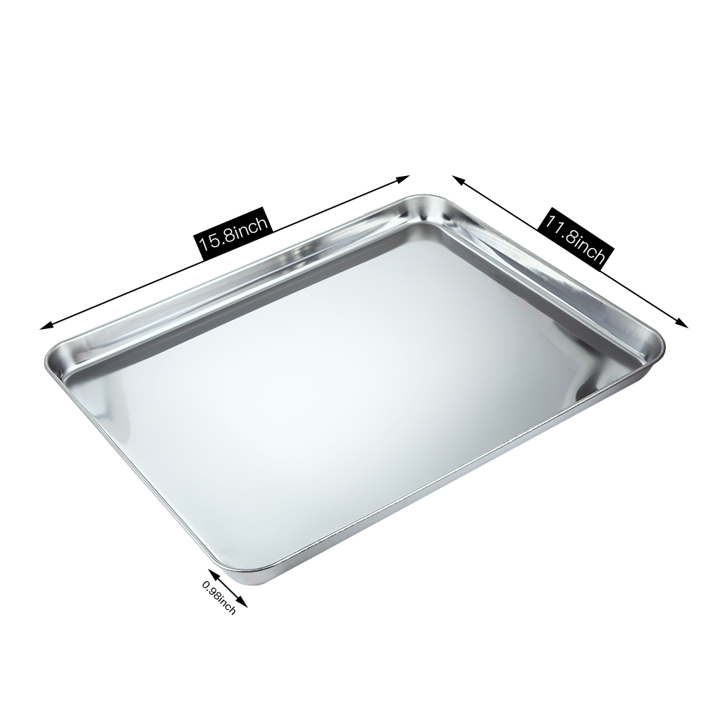 Norpro Stainless Steel Jelly Roll Cookie Baking Sheet 12 Quot X