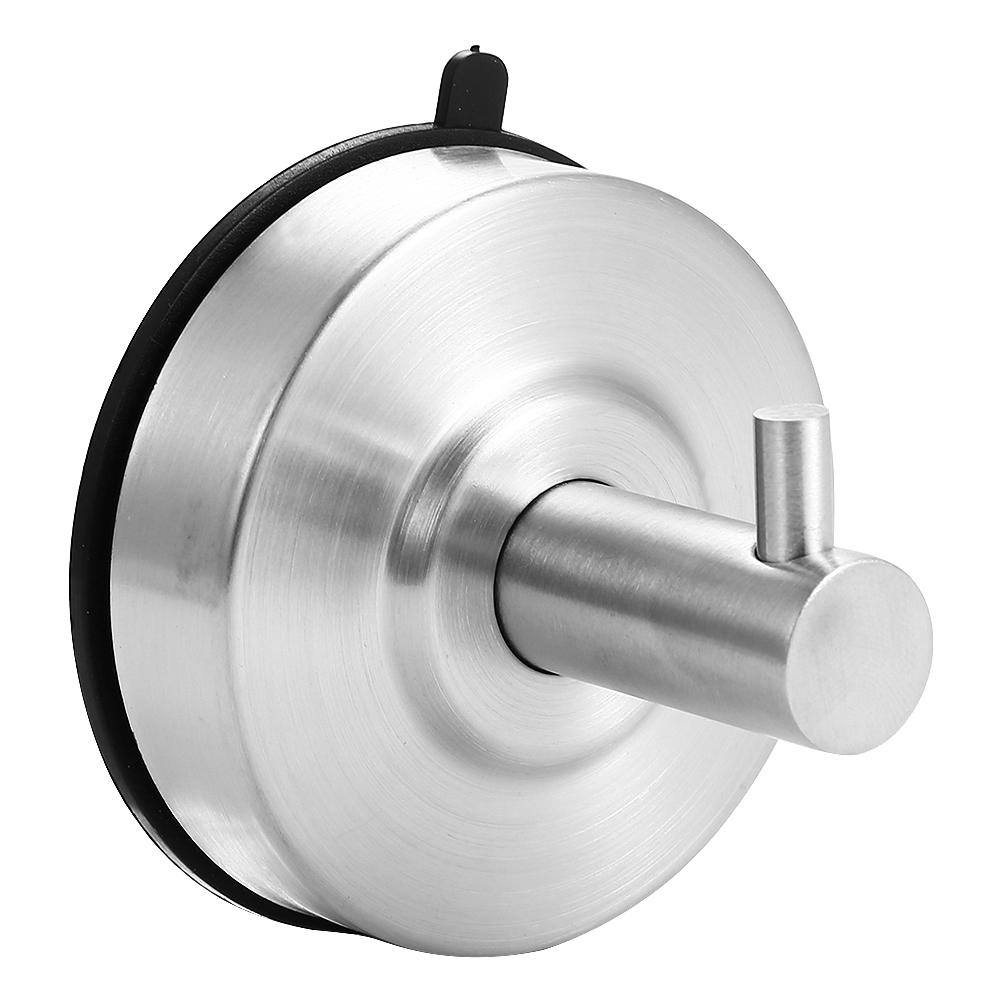 Starker Vakuum Saugnapf Edelstahl Handtuchhaken Aufhänger Für Badezimmer  Küche